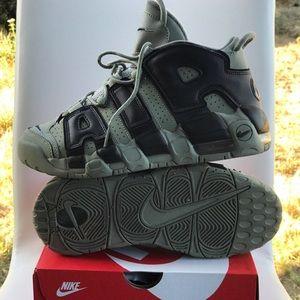 Nike sneakers.